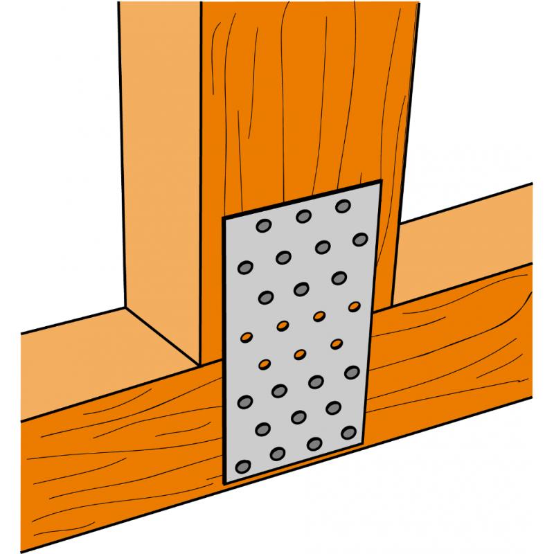 plaque de fixation simpson charpente bois assenblage de. Black Bedroom Furniture Sets. Home Design Ideas