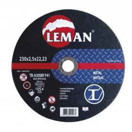 Disque tronçonnage métal Leman.