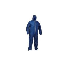 Combinaison à capuche bleu