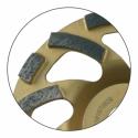Plateau diamanté à segments virgule Leman gamme expert