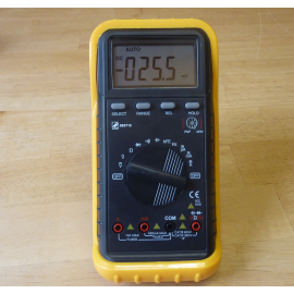 Multimètre mode automatique.
