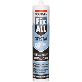 Mastic FIX ALL crystal Soudal.