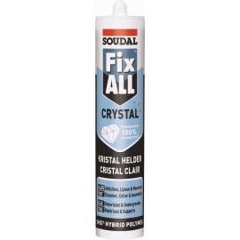 Mastic FIX ALL crystal Soudal.