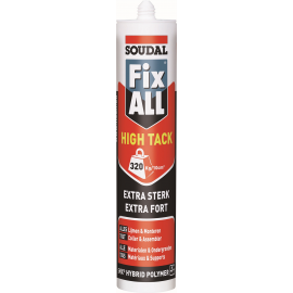 Mastic colle Soudal FIX ALL HIGH TACK