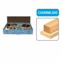 """Coffret combiné """"CUISINE ISO+"""" Leman"""